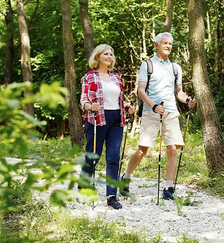 Osteoporose behandeln mit Bewegung und Sonnenlicht