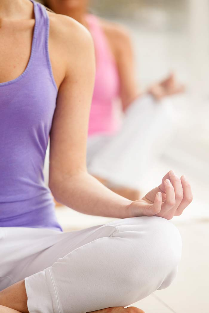 Entspannung hilft bei Spannungskopfschmerzen