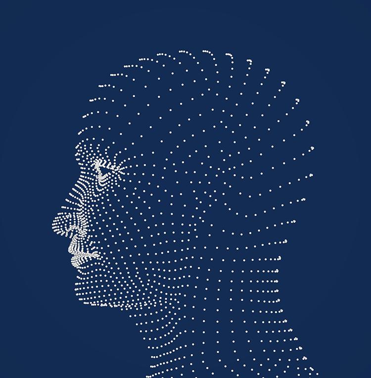 Darstellung Kopf - Spannungskopfschmerzen
