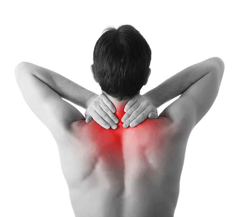 Schmerzen im Nacken und Schulterbereich - Stoßwellentherapie