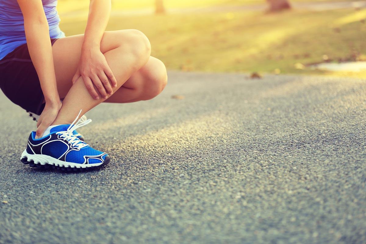 Behandlung von Fußschmerzen