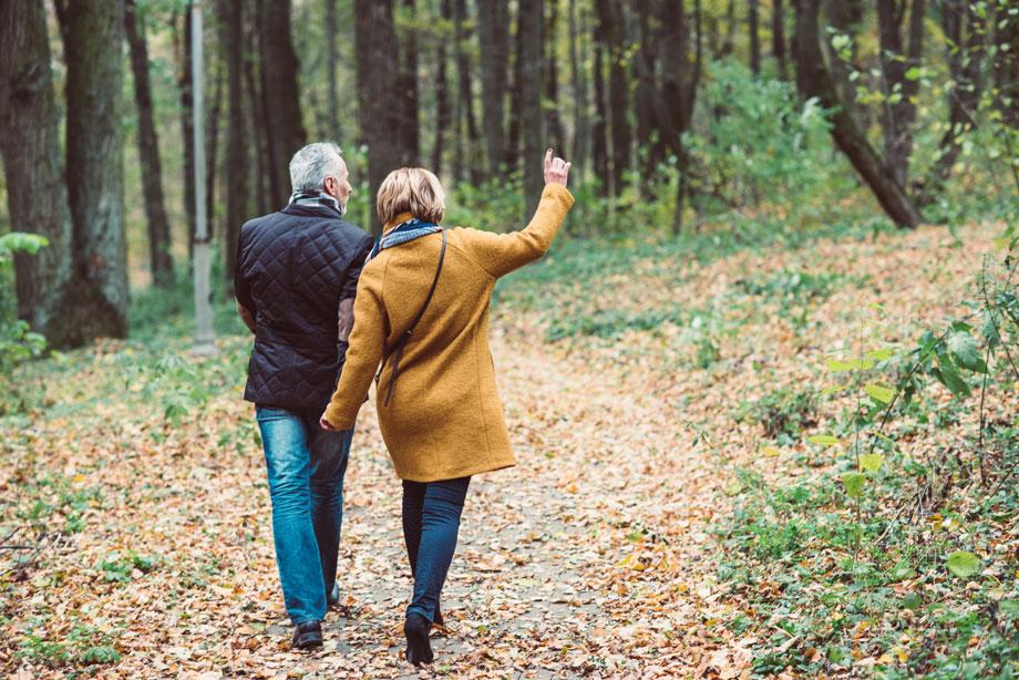 Spaziergang – gesunde Lebensweise und Prävention