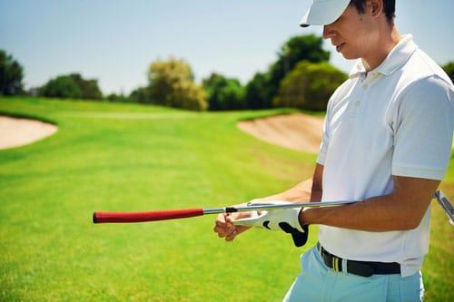Schmerzen am Handgelenk beim Golfspielen