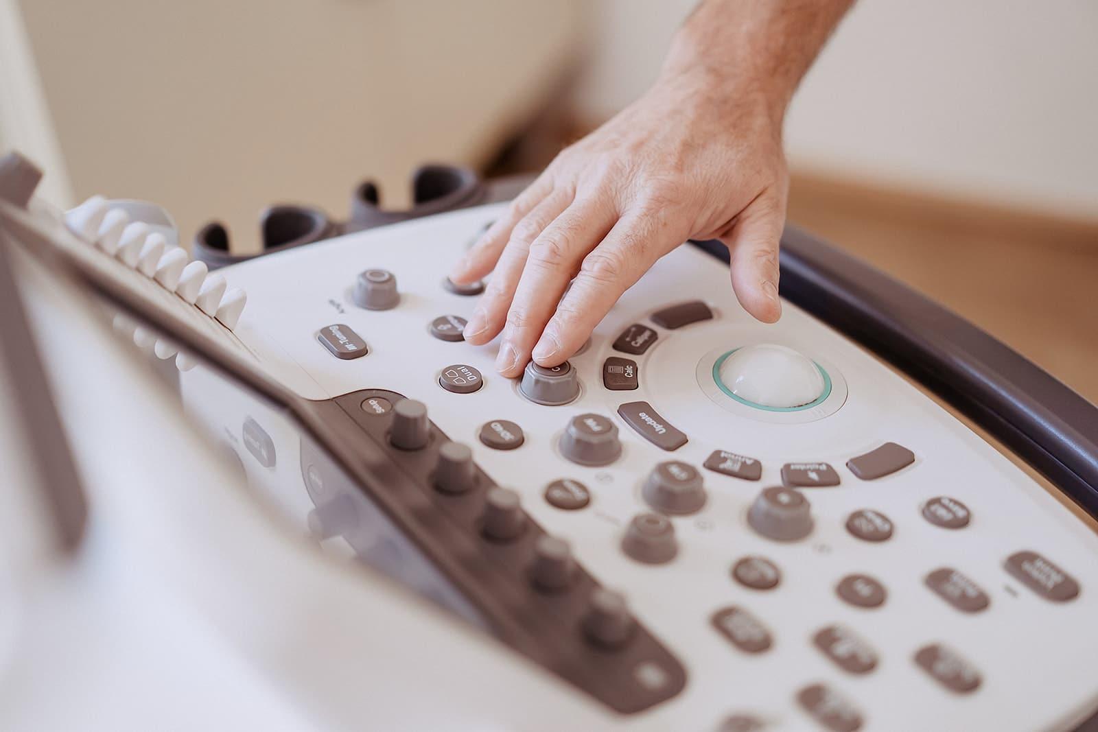 Ultraschall - Diagnostik einer Kalkschulter