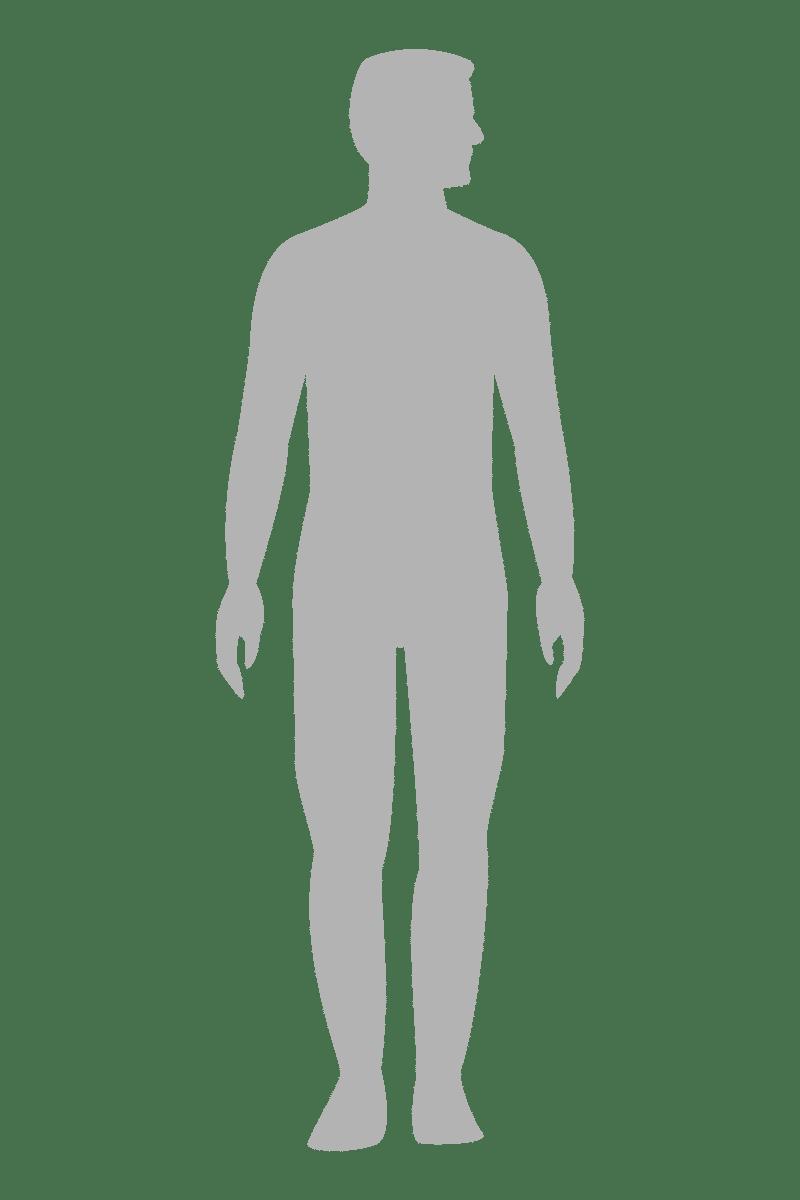 Menschliche Silhouette