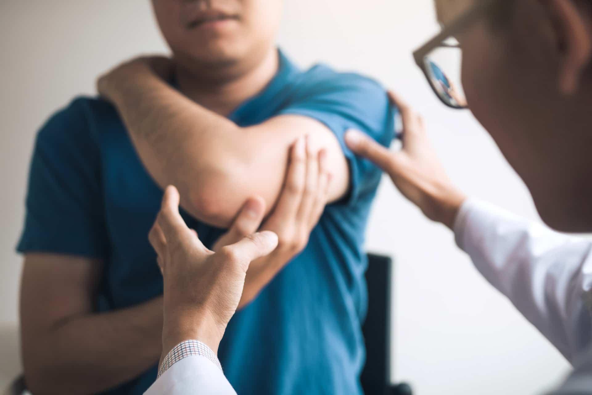 Ellbogenschmerzen - Sehnenentzündung im Ellenbogen